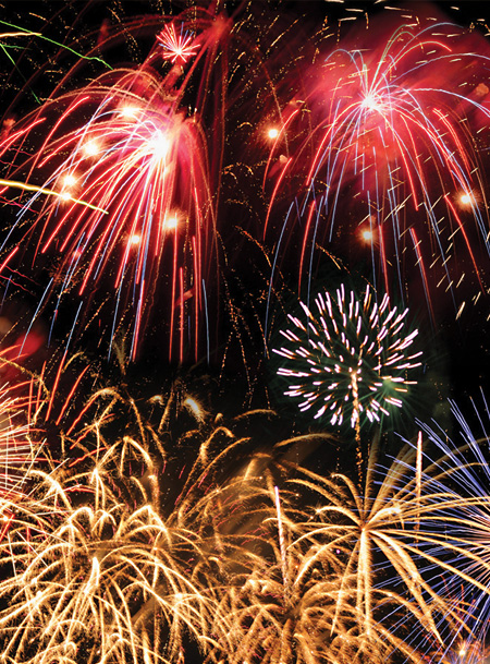 Fuochi artificiali per Feste private